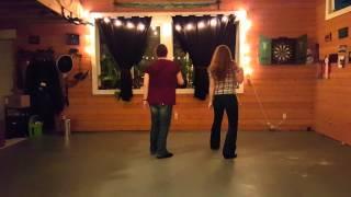 Western Electric Slide Line Dance