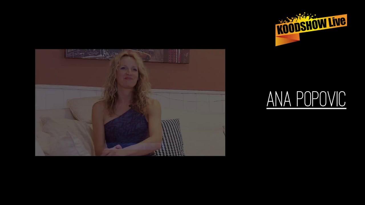 INTERVIEW ANA POPOVIC (en français) 2017
