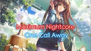 Video Nightcore - One Call Away (Female Version) [Request: Day 2] download MP3, 3GP, MP4, WEBM, AVI, FLV Januari 2018