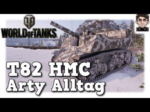 World of Tanks - T82 HMC, Arty Alltag auf Tier 4 [deutsch | gameplay] thumbnail