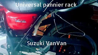 Universal pannier rack Suzuki VanVan