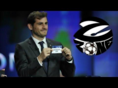 Жеребьёвка 14 финала Лиги чемпионов от Z Zone