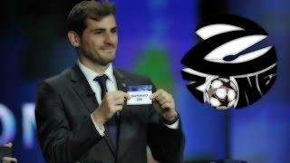 Жеребьёвка 1/4 финала Лиги чемпионов от Z Zone