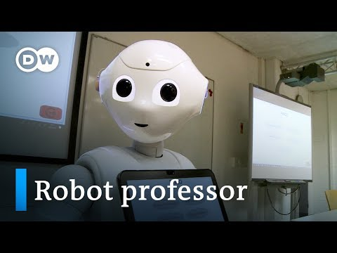 Meet Germany's first robot lecturer | DW Documentary