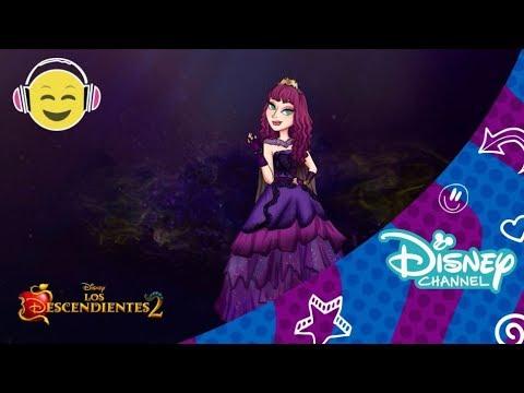 Los Descendientes 2 | Speed Painting: Mal | Disney Channel Oficial
