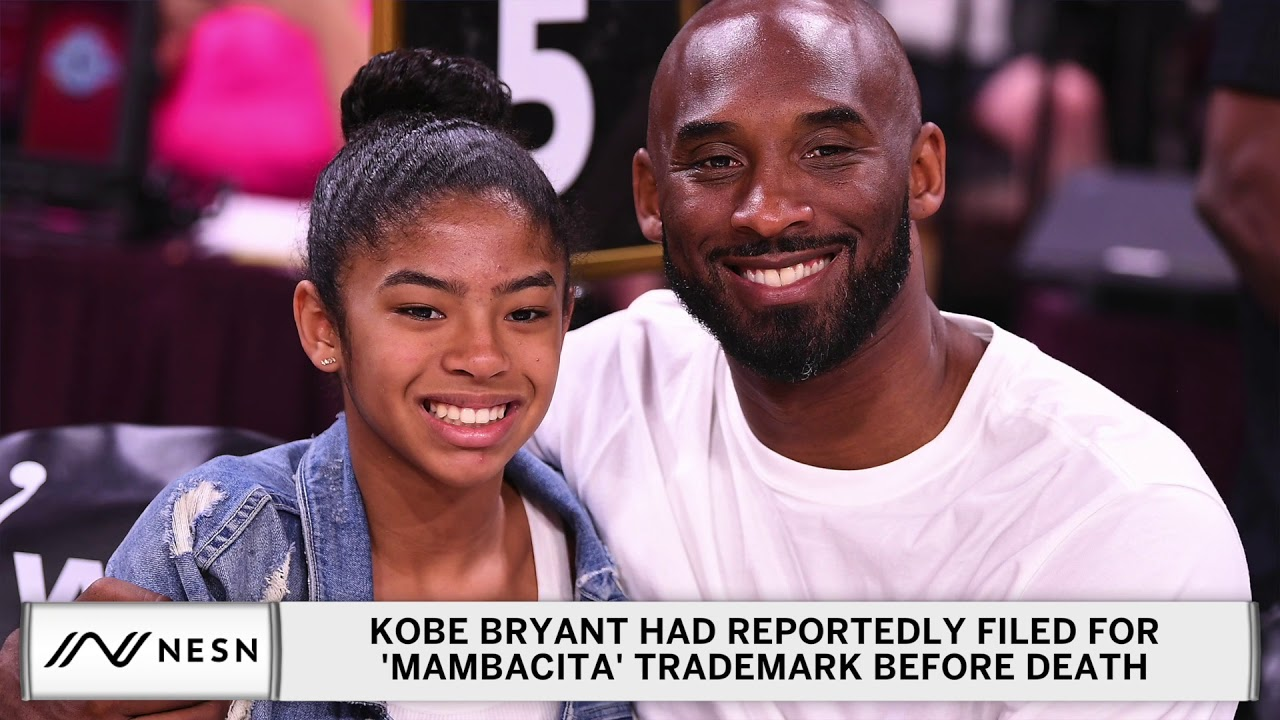 Kobe Bryant Reportedly Filed 'Mambacita' Trademark For Gianna