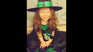 Kids costume little wicked witch