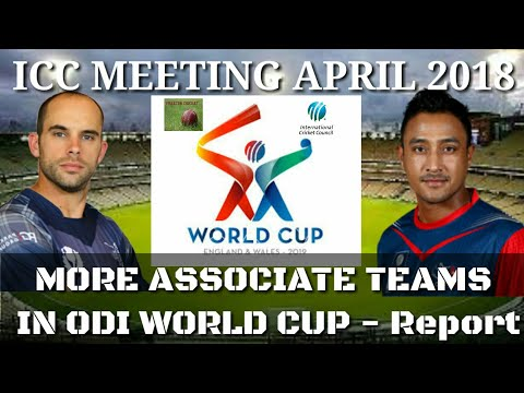 ICC to increase Associate Teams in Cricket World Cup and ICC World Cup Qualifier