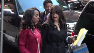 Jeff Perry, Darby Stanchfield, Kerry Washington and Bella...