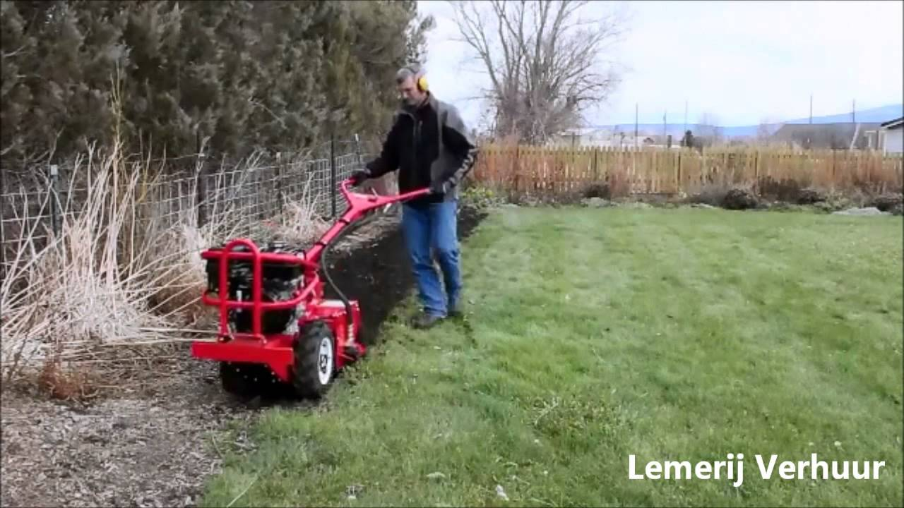 Tuin Omploegen Machine : Hydraulische tuinfrees huren lemerij verhuur tuinfrezen te