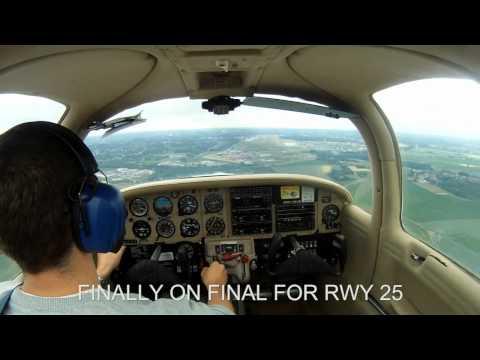 My first solo flight EBCI