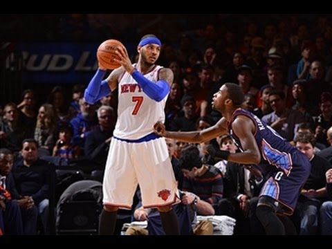 Carmelo Anthony Scores a Career-High and Knicks Franchise Record 62 Points!
