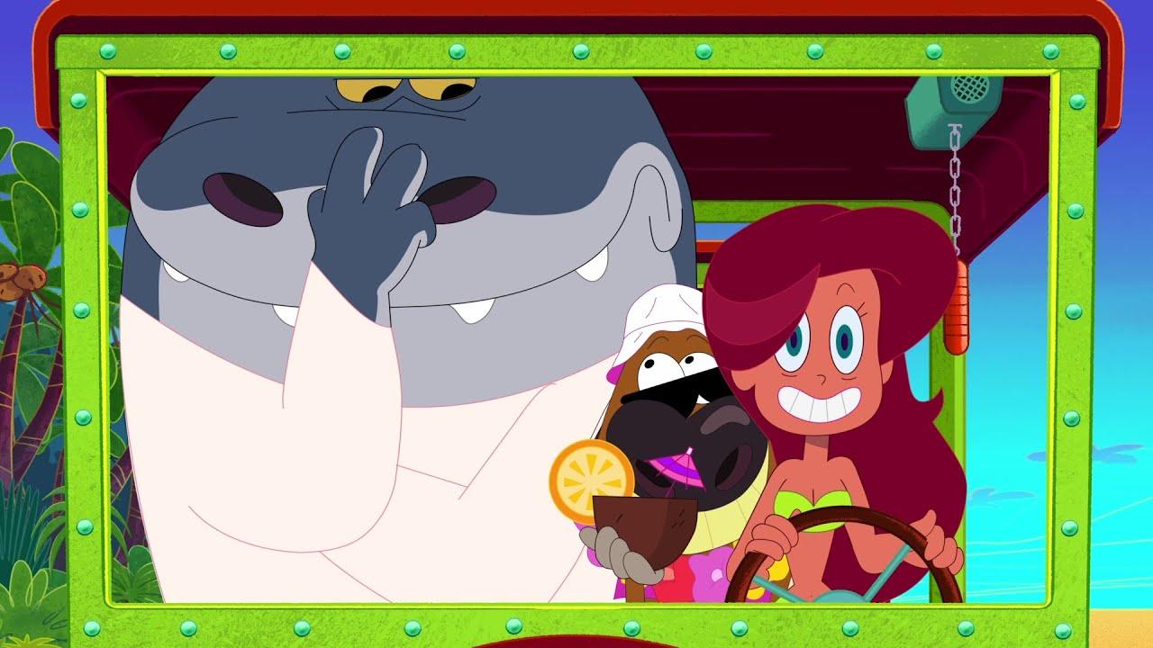 Zig & Sharko 👌🦴 PERFECT TIMING 👌🦴 2021 COMPILATION 🎭 Cartoons for Children