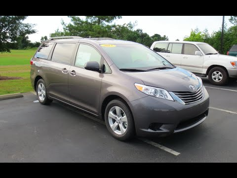 2017 toyota sienna le full tour start up at massey. Black Bedroom Furniture Sets. Home Design Ideas