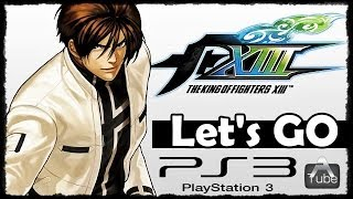 The King of Fighters XIII ( PS3 ) - Gameplay Comentado ( PT BR )