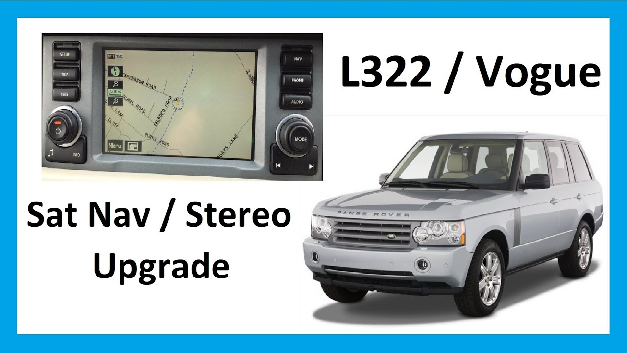 How To Upgrade Stereo Sat Nav Range Rover L322 Vogue Youtube 75 Webasto Wiring Diagram