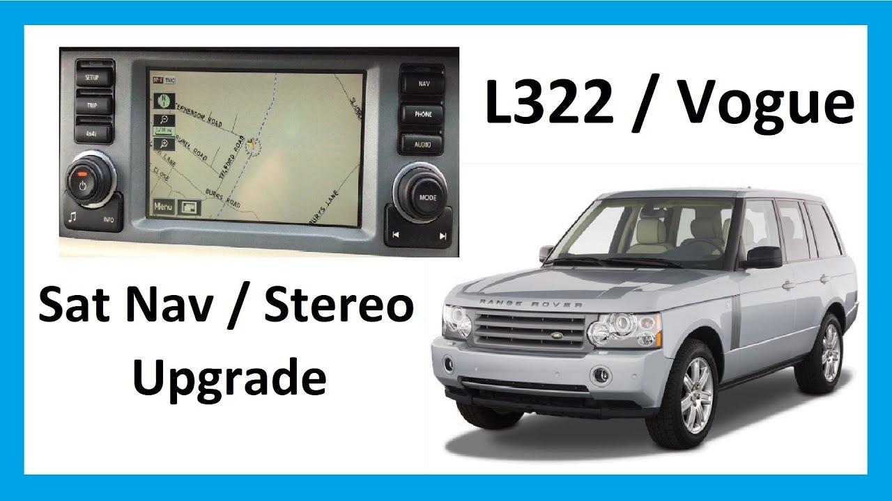 2008 Land Rover Range Rover Fuse Box How To Upgrade Stereo Sat Nav Range Rover L322 Vogue