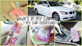 what s in my car car essentials