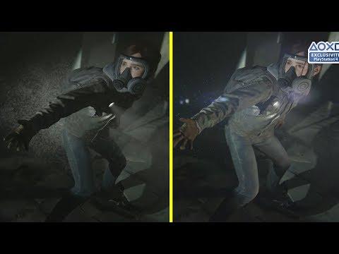 The Last Of Us 2 Demo Vs Trailer PS4 Pro Graphics Comparison