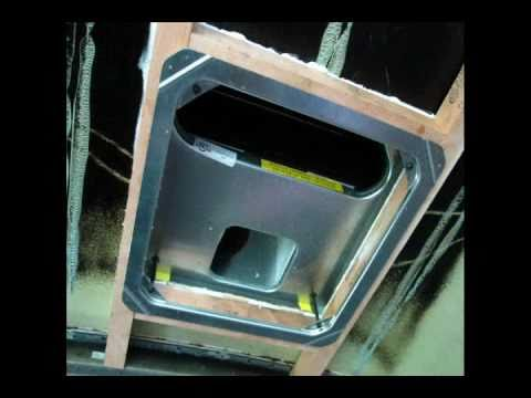 The Bus Project Part 4 Rooftop Ac Install Youtube