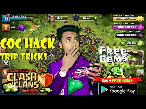 How to hack Clash of clan 2018 | BEST Trip,Tricks &  with game play 100% work Must watch Hindi