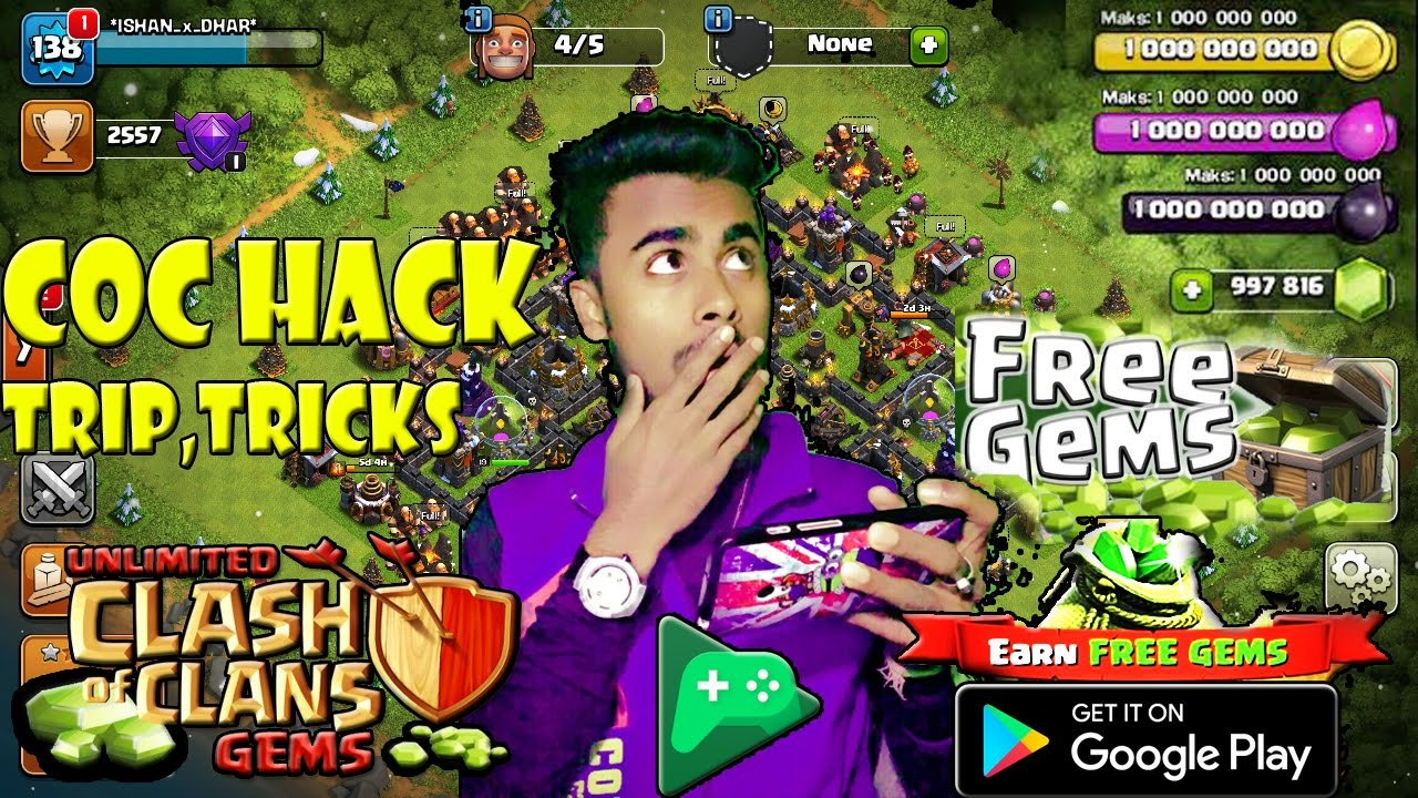 free hack clash of clans download