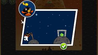 The first eggsteroid in the new angry birds space..mov