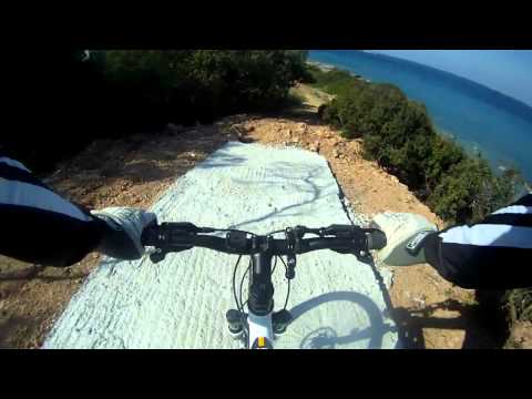 MTB Ideal Zig zag GoPro HD  Lagonisi-Saronida  Part-1.avi