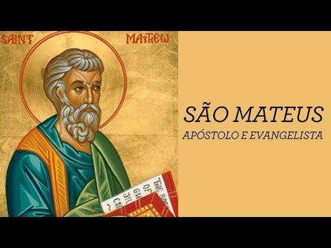 SÃO MATEUS - APÓSTOLO E EVANGELISTA