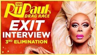 RuPaul's Drag Race: Episode 3 Exit Interview (Exclusive)