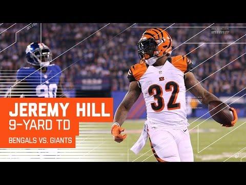 Alex Erickson Returns 2nd Half Kickoff 84 Yards to Set Up Jeremy Hill TD | Bengals vs. Giants | NFL