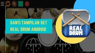 Cara mengganti tampilan real drum unik||100% Mudah dan Cepat||