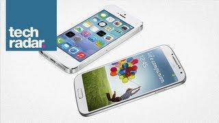 iphone 5s vs samsung galaxy s4 is apple closing the gap