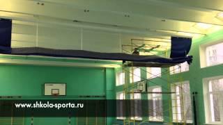 видео Сетка спортивная заградительная