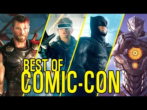 THE BEST OF COMIC CON from Thor: Ragnarok to Justice League | Trailer Compilation