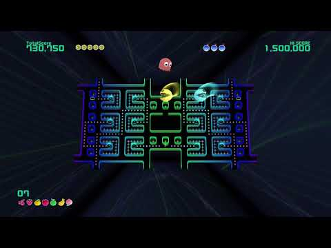Pac-Man Championship Edition 2 Plus 2 Player 60fps