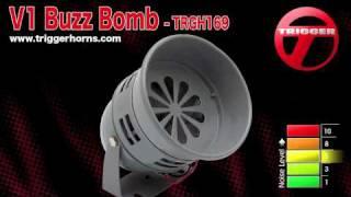 Trigger Horns™ V1 Buzz Bomb™ Vintage Air Raid Siren / Horn - TRGH169