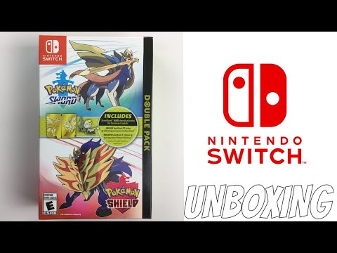 POKEMON SWORD AND SHIELD DOUBLE PACK UNBOXING