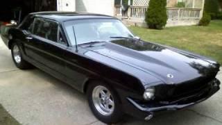 65 Mustang Drag Racing