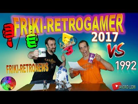 """Friki-Retrogamer especial """"E3  vs E3 1992"""" Comparativa con el del año 1992 FRG E3 EEE"""