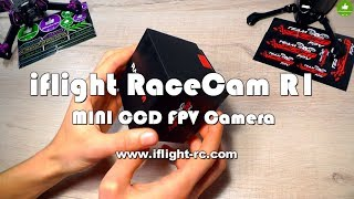 ✔ iFlight RaceCam R1 Mini CCD FPV Camera! iflight-rc.com