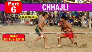 Chhajli (Sangrur) Kabaddi Tournament 20 Feb 2015  Part 6 by Kabaddi365.com
