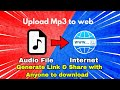 How To Upload Files Online Share Download Link   Upload MP3  