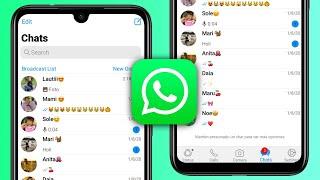 WhatsApp Estilo IPhone en Android