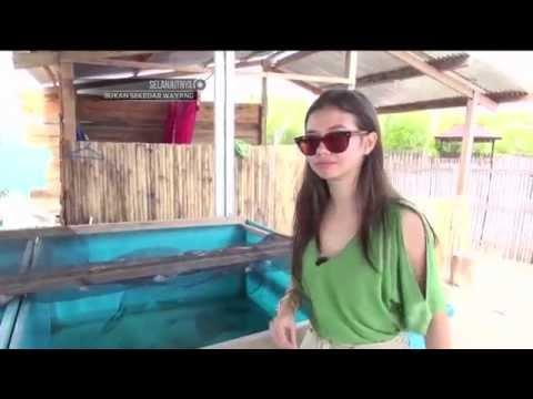 Keseruan Yuki Kato menjelajahi pesona alam pulau Selayar
