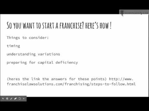 Franchise Economics