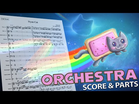 Nyan Cat - Orchestral Cover - Score & Parts