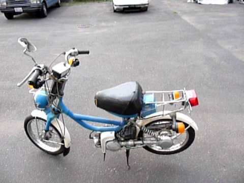 Yamaha Qt 50 Resurection From An Eyesore To