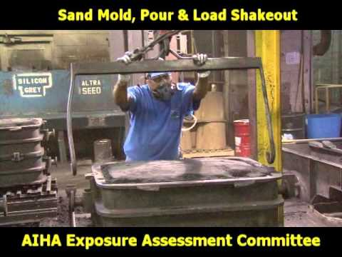 Iron Foundry: Sand Mold/ Pour and Shake out