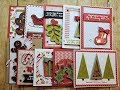 10 Cards 1 Kit | Happy Holly Days | Queen & Co.